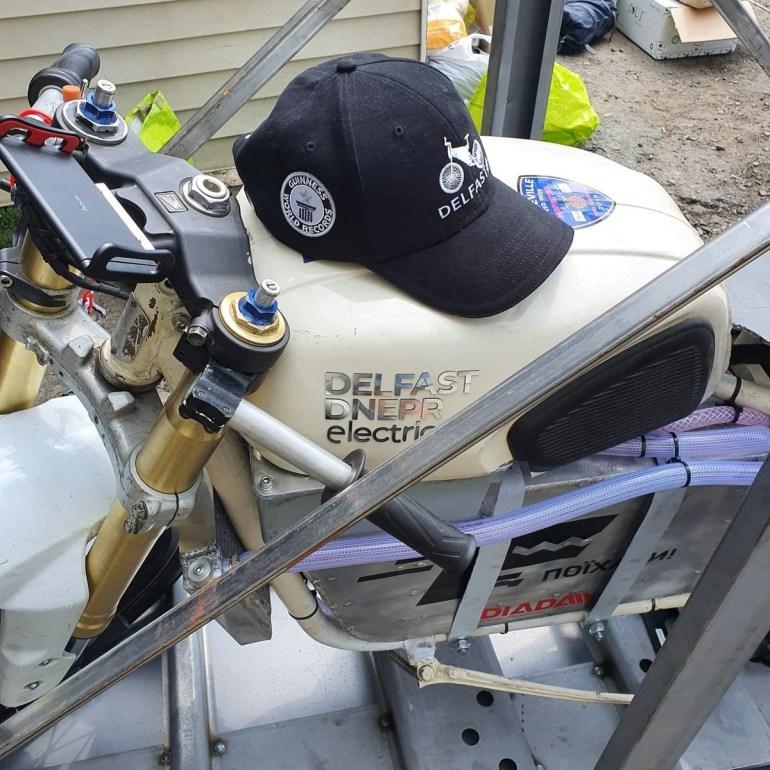 """Delfast створив прототип електромотоциклу Delfast-Dnepr Electric та отримав права на ТМ """"Днепр"""" для серійного випуску електромотоциклів під цим брендом"""