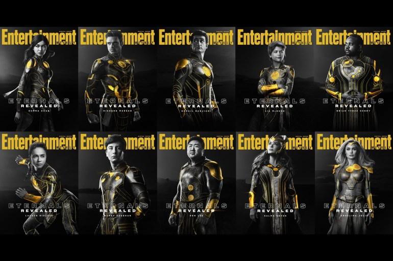 Вышел финальный трейлер супергеройского боевика Eternals / «Вечные» от Marvel, премьера - 5 ноября 2021 года