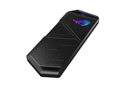 ASUS анонсировала портативный SSD ROG Strix Arion S500 с USB-C 3.2 и скоростью передачи данных до 1050 МБ/с