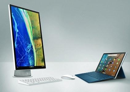 HP анонсировала моноблок и планшет-трансформер с Chrome OS, а также монитор с сертификацией Works With Chromebook