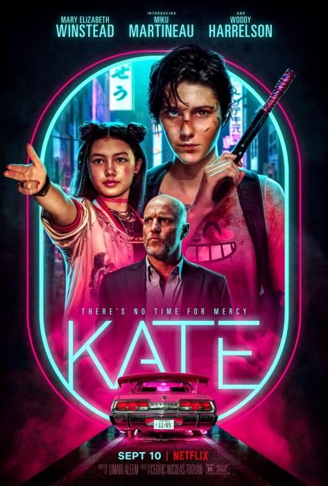 Вышел первый трейлер боевика Kate / «Кейт» о наемной убийце с Мэри Элизабет Уинстед и Вуди Харрельсоном