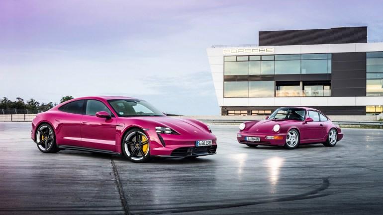 Немцы обновили электромобили Porsche Taycan и Taycan Cross Turismo - они получат улучшенный запас хода, автоматическую парковку, беспроводной Android Auto и больше цветовых вариантов