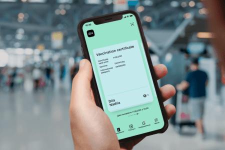 COVID-сертифікати стали доступні на iOS
