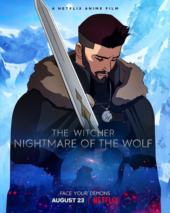 Вышел первый полноценный трейлер полнометражного мультфильма «The Witcher: Nightmare of the Wolf», премьера состоится на Netflix 23 августа 2021 года