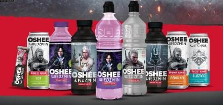 В Польше выпустили изотонические напитки с оформлением по «Ведьмаку» — с названиями эликсиров из игры CD Projekt RED