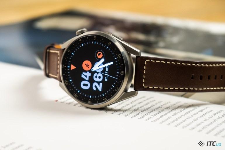 Обзор Huawei Watch 3 Pro: титан, керамика и много спорта