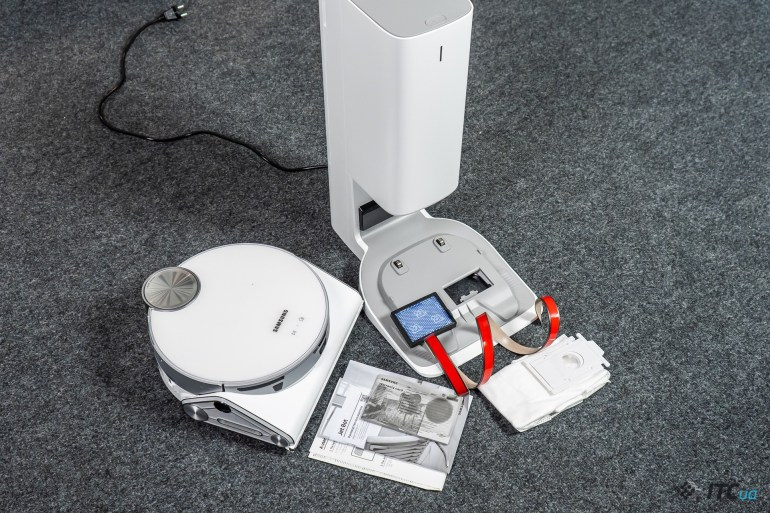 Обзор робота-пылесоса Samsung Jet Bot AI+ VR50T95735W/EV