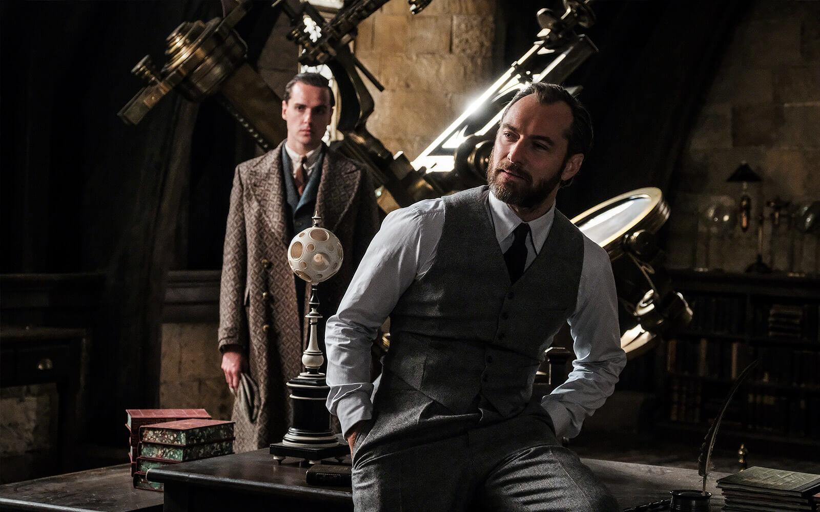 """Третий фильм серии """"Fantastic Beasts"""" получил подзаголовок """"The Secrets of Dumbledore"""", его премьера состоится 15 апреля 2022 года (на три месяца раньше, чем ожидалось) - ITC.ua"""