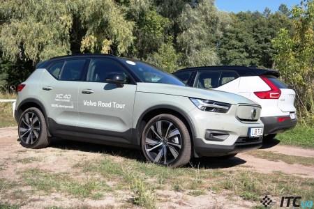 Первый взгляд на электрокар Volvo XC40 Recharge: мягкая подвеска, 408 лошадей, Google внутри