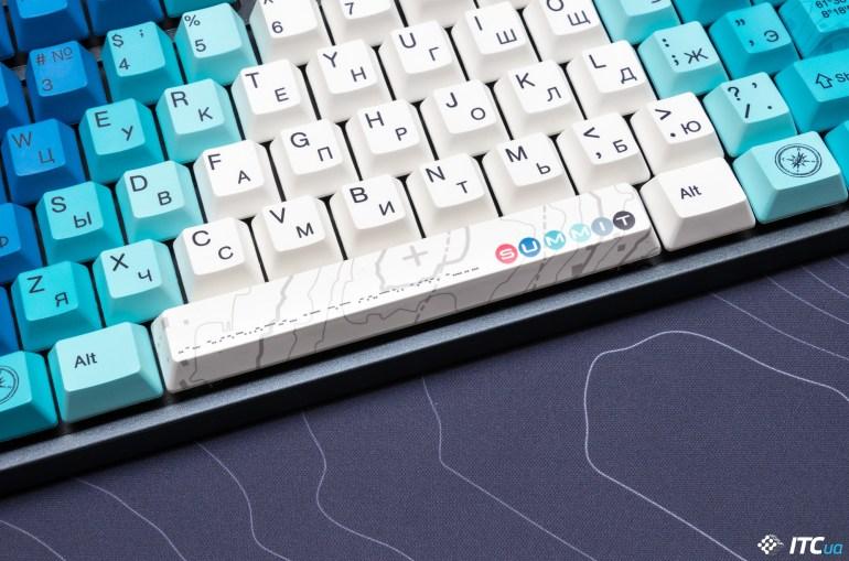 Обзор механической клавиатуры Varmilo MA87M Summit R2