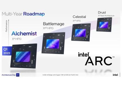 Настольные видеокарты Intel Arc Alchemist получат схему наименования «Arc aXXX» — стартовая линейка будет представлена тремя моделями