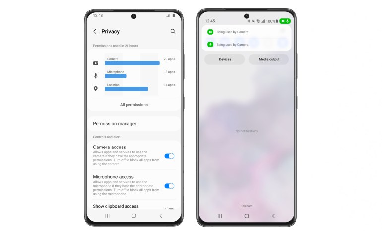 Samsung выпустила публичную бету One UI 4.0 на базе Android 12 для Galaxy S21