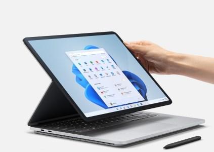 Surface Laptop Studio – самый мощный из ноутбуков Microsoft, он получил новый шарнир и цену от $1600
