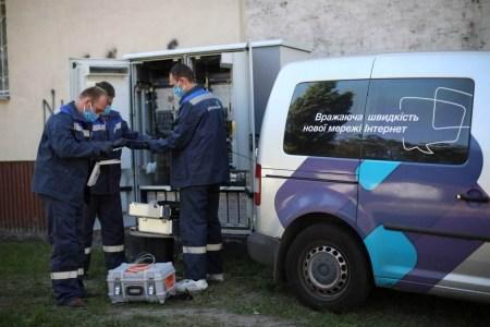 «Укртелеком» інвестує 12 млн євро в розширення мережі оптичного інтернету в Україні — за три роки підключать 300 населених пунктів, де мешкає 1,3 млн осіб