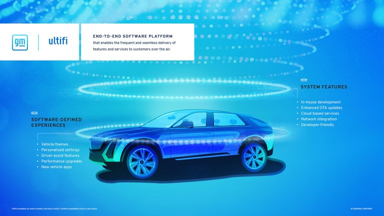 Новая программная платформа General Motors Ultifi внедрит беспроводные обновления, внутриавтомобильные покупки и подписки