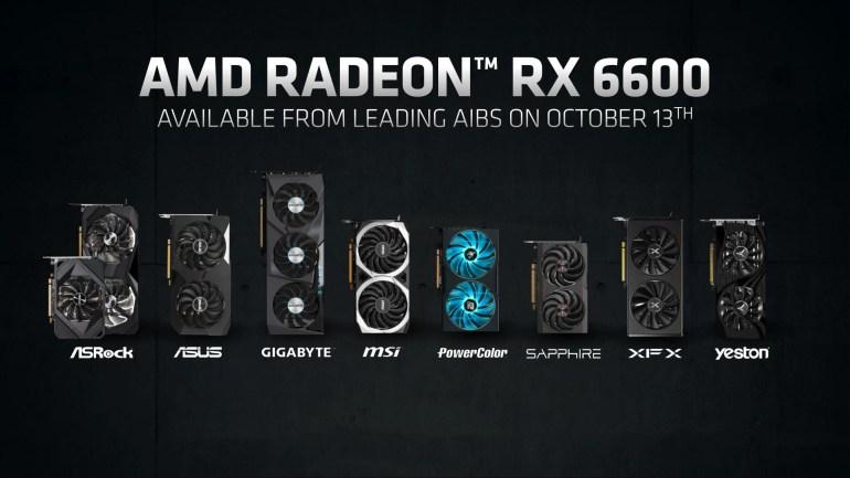 AMD выпустила Radeon RX 6600 — мейнстрим видеокарту для 1080p-гейминга за $329