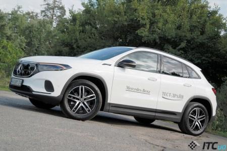 Тест-драйв Mercedes EQA 250: молодой и «зеленый»?