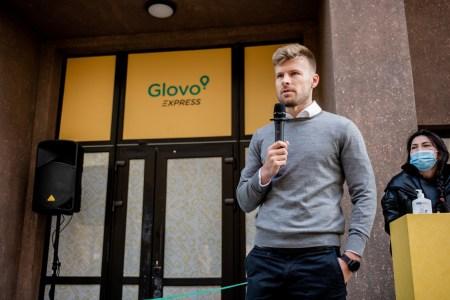 Glovo поділився результатами роботи перших мікрофулфілмент центрів Glovo Express в Україні: покрито 60% площі Києва, найвищий попит увечері, середній чек — 230 грн