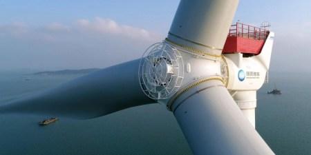Китай работает над созданием 242-метрового морского ветрогенератора рекордной мощностью 16 МВт