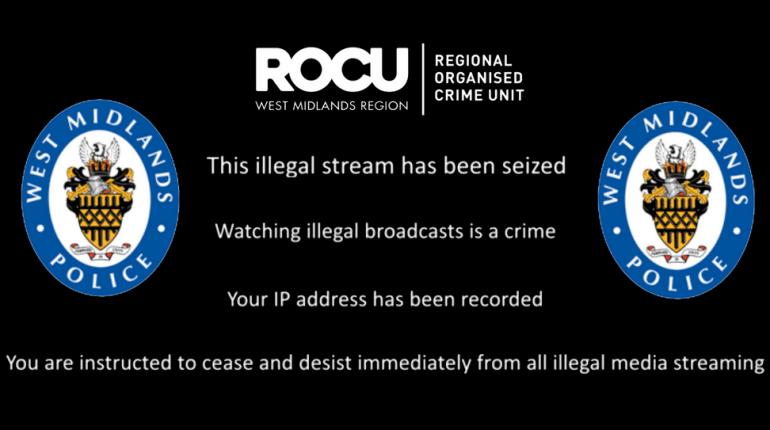 В Великобритании закрыли крупнейшую пиратскую IPTV-сеть, после чего полиция отправила всем ее клиентам сообщения о незаконном доступе к контенту