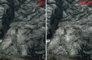 Improved rock and mountain textures