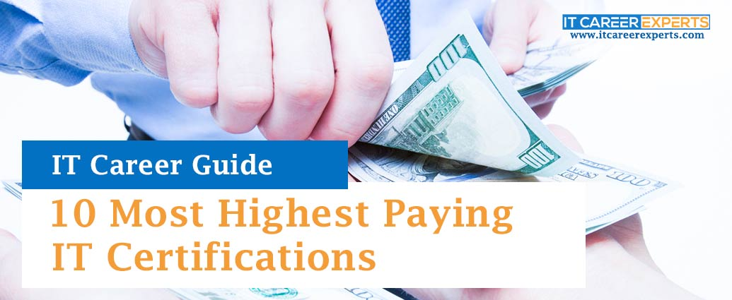 10 Most Highest Paying IT Certifications