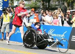 If you haven't heard the story of Team Hoyt, make sure you have your tissues ready when you do.