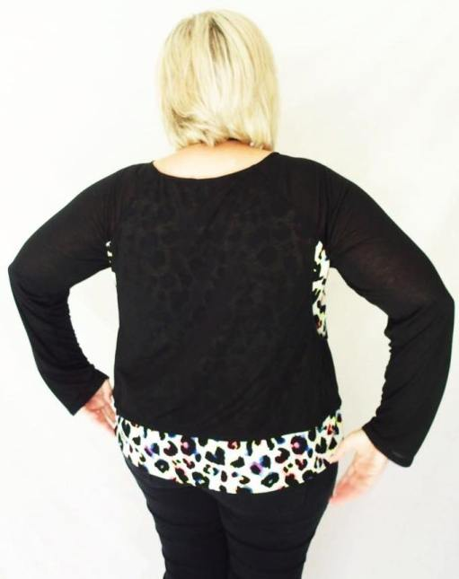 Debbie's Paulina Top Back View