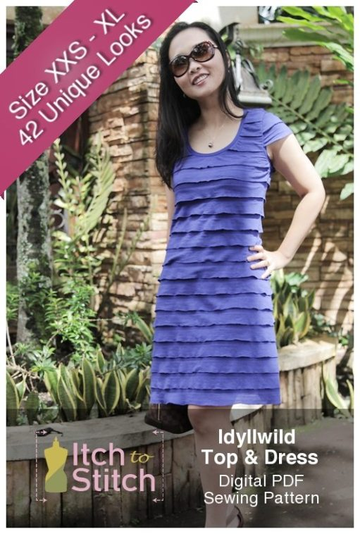 Idyllwild Top & Dress PDF Sewing Pattern Product