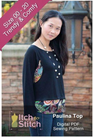 Paulina Top PDF Sewing Pattern Product