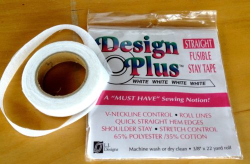 """3/8"""" Fusible Stay Tape"""