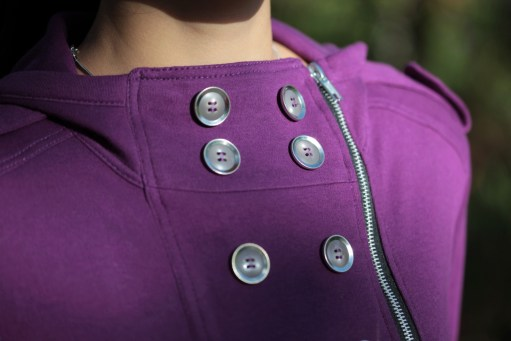 Itch To Stitch Jacqueline Hoodie PDF Sewing Pattern