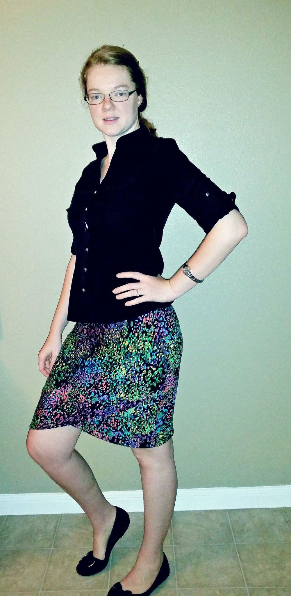 Melanie's Lindy Petal Skirt