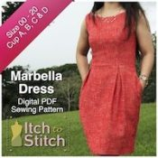 Itch To Stitch Digital Sewing Pattern Marbella Ad 2 200 x 200