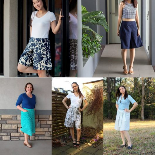 Emily Culottes Sew-along