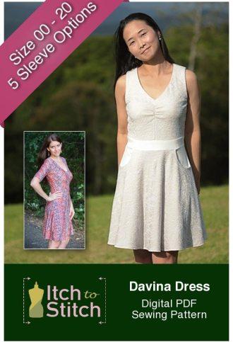 Itch to Stitch Davina Dress PDF Sewing Pattern