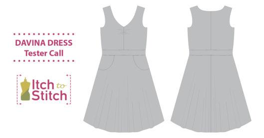 Davina Dress PDF Sewing Pattern Tester Call