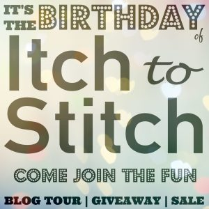 Itch to Stitch Birthday Fun