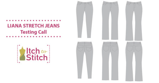 Itch to Stitch Liana Stretch Jeans Testing