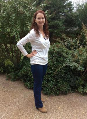 Liana Stretch Jeans Straight Legs by Pam