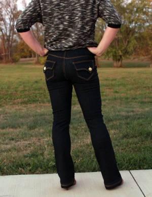 Liana Stretch Jeans Boot Legs by Stephanie