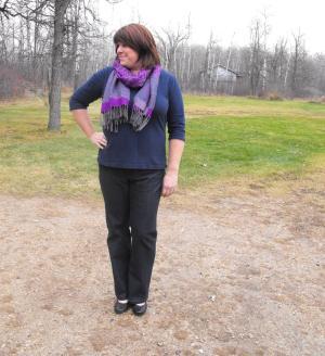 Liana Stretch Jeans Straight Legs by Sarah