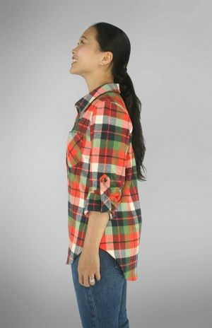 Mila Shirt PDF Sewing Pattern Side View