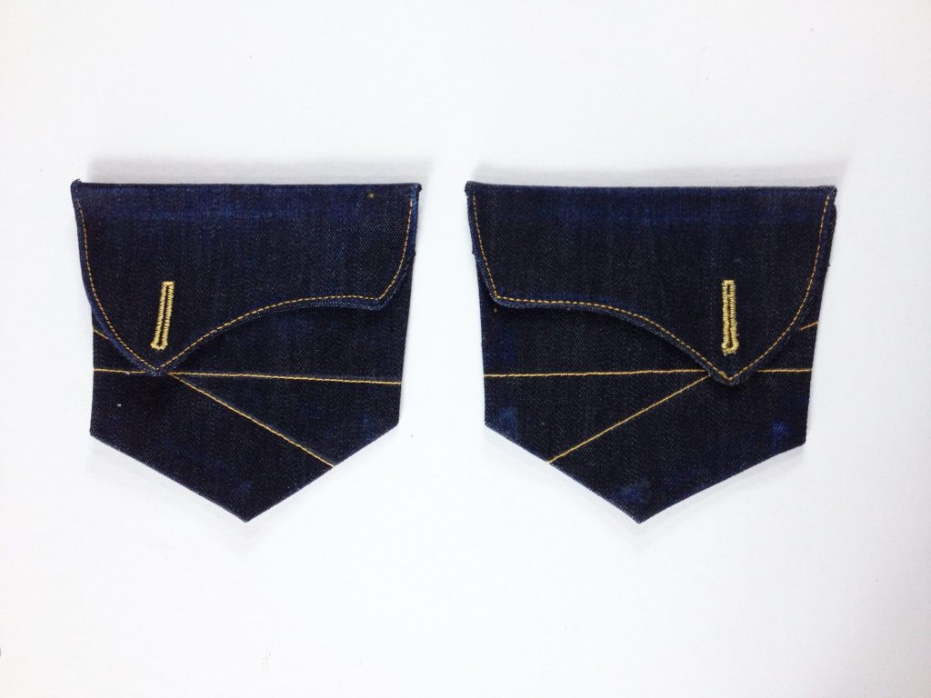 Liana Stretch Jeans Sewalong Day 6 Back Pocket & Flaps