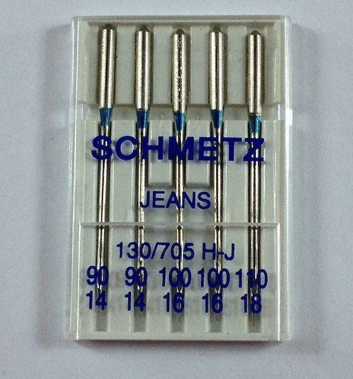 Liana Jeans Sewalong Day 1 - Jeans Needles