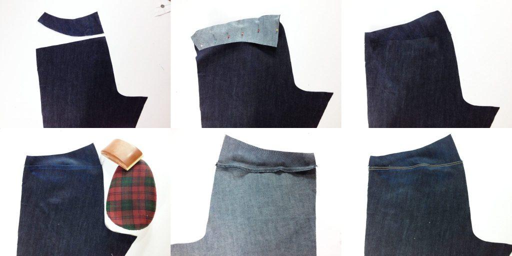 Liana Stretch Jeans Sewalong Day 6 Sew Back