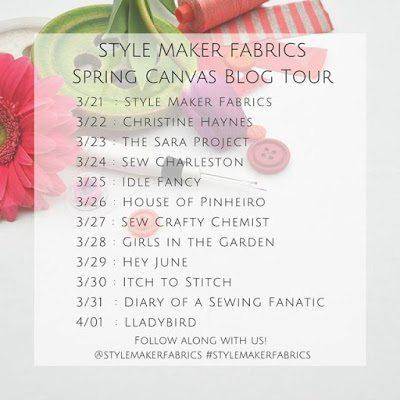 Stylemaker Fabrics Blog Tour