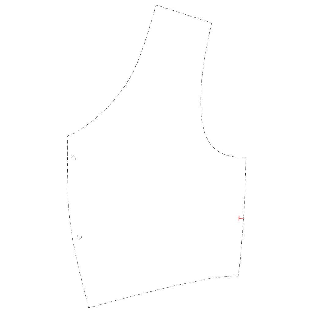 How to raise a neckline - Davina Dress