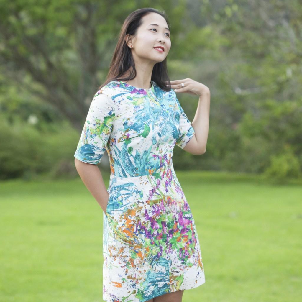 Itch to Stitch Sirena Dress PDF Sewing Pattern Sleeve Cuff Option