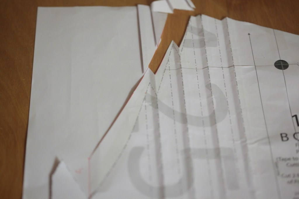 How to raise the neckline - Zamora Blouse